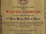 Wpis do Doce Pares Hall of Fame jako: Najwartościowszy Instruktor!